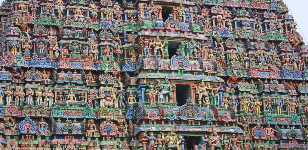 India. Tesoros del Sur